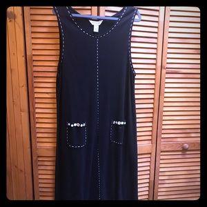 Bechamel Long Cotton Tank Dress